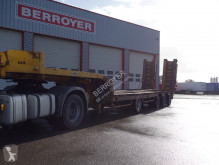 used Nicolas heavy equipment transport semi-trailer