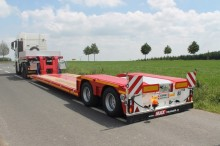 Faymonville heavy equipment transport semi-trailer