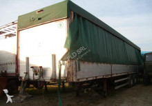 used Piacenza tarp semi-trailer