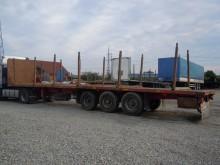 semiremorca transport buşteni Fruehauf second-hand