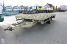 used Trax flatbed semi-trailer