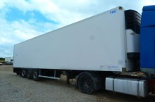 used Lamberet meat transport refrigerated semi-trailer