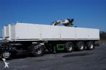 used Carnehl flatbed semi-trailer