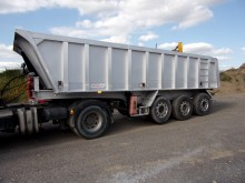 used Benalu half-pipe semi-trailer