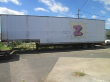 used Trouillet Clothes transport box semi-trailer