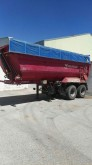 used Fruehauf half-pipe semi-trailer