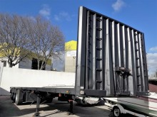 used Vecofabril dropside flatbed semi-trailer
