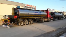 new Lider chemical tanker semi-trailer