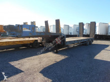 used Verem heavy equipment transport semi-trailer