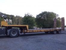 used Demico heavy equipment transport semi-trailer