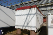 used Scania box semi-trailer