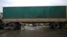 used Benalu dropside flatbed tarp semi-trailer