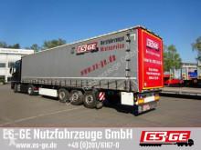 used Krone flatbed semi-trailer