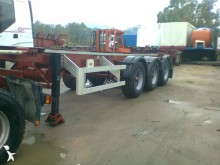 used Piacenza container semi-trailer