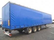 used Kässbohrer tarp semi-trailer