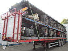 Krone flatbed semi-trailer