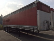 used Schmidt dropside flatbed tarp semi-trailer
