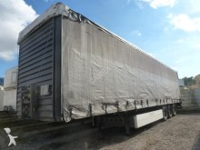 used Merker tautliner semi-trailer