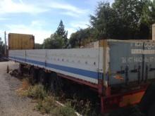 used Montenegro flatbed semi-trailer