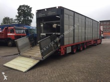used Fliegl livestock semi-trailer