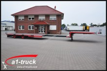 used Langendorf heavy equipment transport semi-trailer
