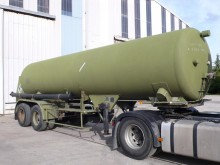 used Fruehauf gas tanker semi-trailer