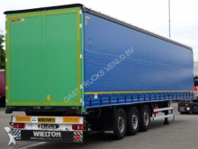 used Wielton tarp semi-trailer