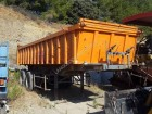 used Marrel construction dump semi-trailer