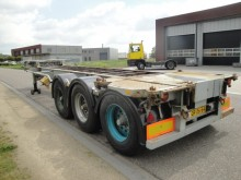Pacton 3-Axle 20FT Containerchassis / BPW semi-trailer