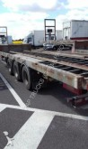 used Samro gas carrier flatbed semi-trailer