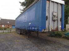 used Fruehauf sliding tarp system tarp semi-trailer