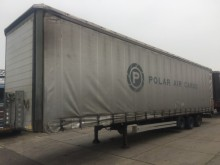 used Talson tautliner semi-trailer