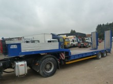 used Asca heavy equipment transport semi-trailer