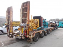 used ACTM heavy equipment transport semi-trailer