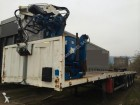 used Metaco flatbed semi-trailer