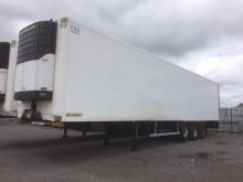 used Trouillet refrigerated semi-trailer