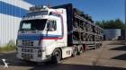 used Fruehauf flatbed semi-trailer