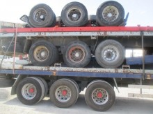 used Lecitrailer flatbed semi-trailer