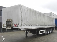 used Krone tarp semi-trailer