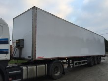 used Fruehauf plywood box semi-trailer