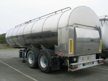 used Maisonneuve food tanker semi-trailer