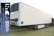 used Chereau double deck refrigerated semi-trailer