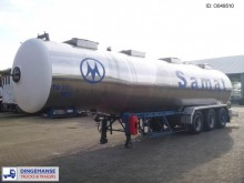 Magyar Chemical tank inox 33 m3 / 4 comp semi-trailer