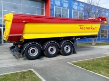 new TecnoKar Trailers half-pipe semi-trailer