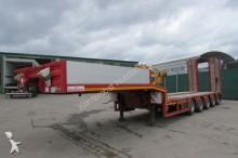 used Kässbohrer heavy equipment transport semi-trailer