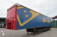 used Berger heavy equipment transport semi-trailer