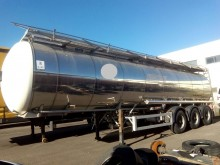 used Feldbinder food tanker semi-trailer