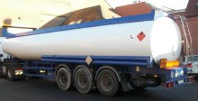 used Merceron oil/fuel tanker semi-trailer