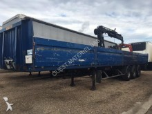 used General Trailers flatbed semi-trailer