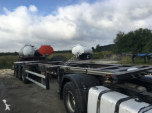 used Merker container semi-trailer